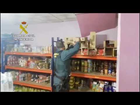 Operación de la Guardia Civil de Córdoba contra el tabaco ilegal en Santaella