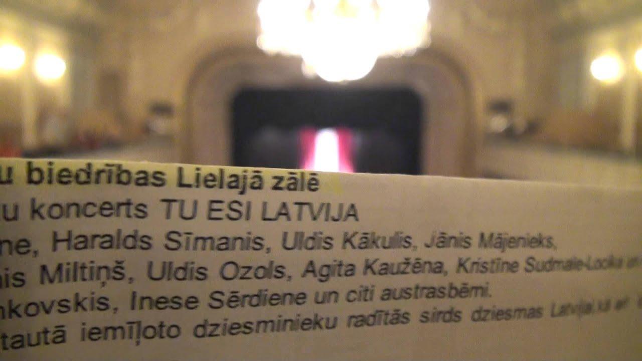 00653 Latviešu dziesminieku koncerts TU ESI LATVIJA RLB 11.11.2015
