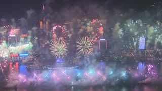 Breathtaking New Year Fireworks…