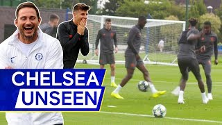 🎥 Tammy Abraham suffers double-nutmeg... but gets epic nutmeg revenge! 👀 | Chelsea Unseen