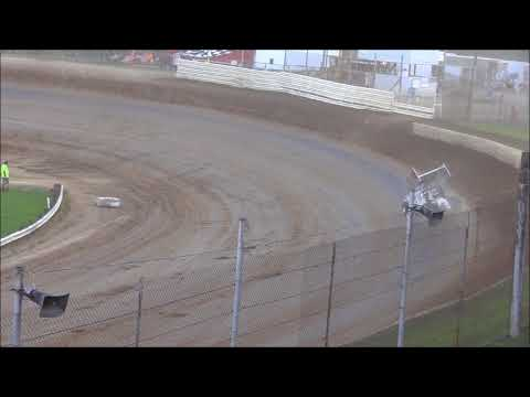 Ohio Valley Sprint Car Association Heat #3 from Atomic Speedway, July 7th, 2018.