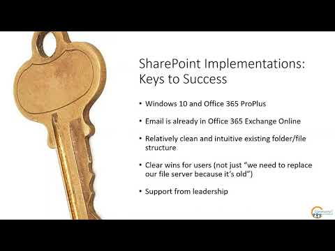 Webinar: June 19 2019 - SharePoint for Your Nonprofit