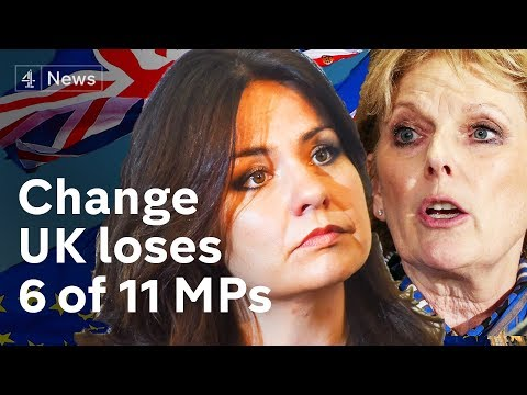 Change UK loses 6 of 11 MPs after EU elections failure