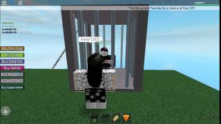 Roblox Guest 1337 In a cage