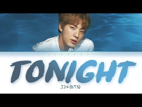 BTS Jin - Tonight (이 밤) (Color Coded Lyrics Eng/Rom/Han/가사)