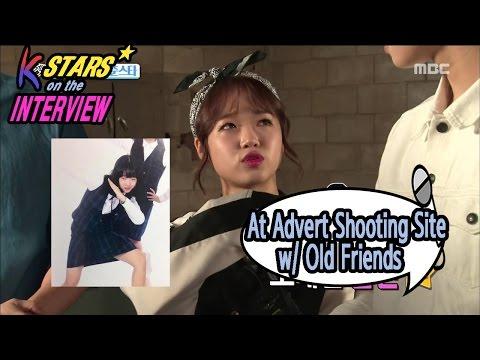 [CONTACT INTERVIEW★] At Advert Shooting Site : Gong Myung, Yoo Jung, Cha Eun Woo, Do Yeon 20170226