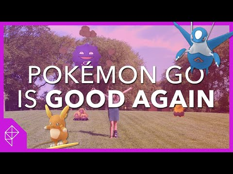 It's 2019, and it's time to play Pokémon Go again
