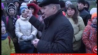Ночь музеев: мэр Локоть стал гидом по Михайловской набережной