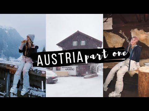 AUSTRIA VLOG | PART ONE