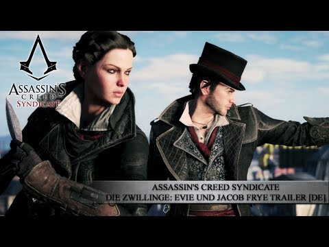 Assassin's Creed Syndicate - Die Zwillinge: Evie und Jacob Frye Trailer | gamescom 2015 [DE] from YouTube · Duration:  1 minutes 53 seconds