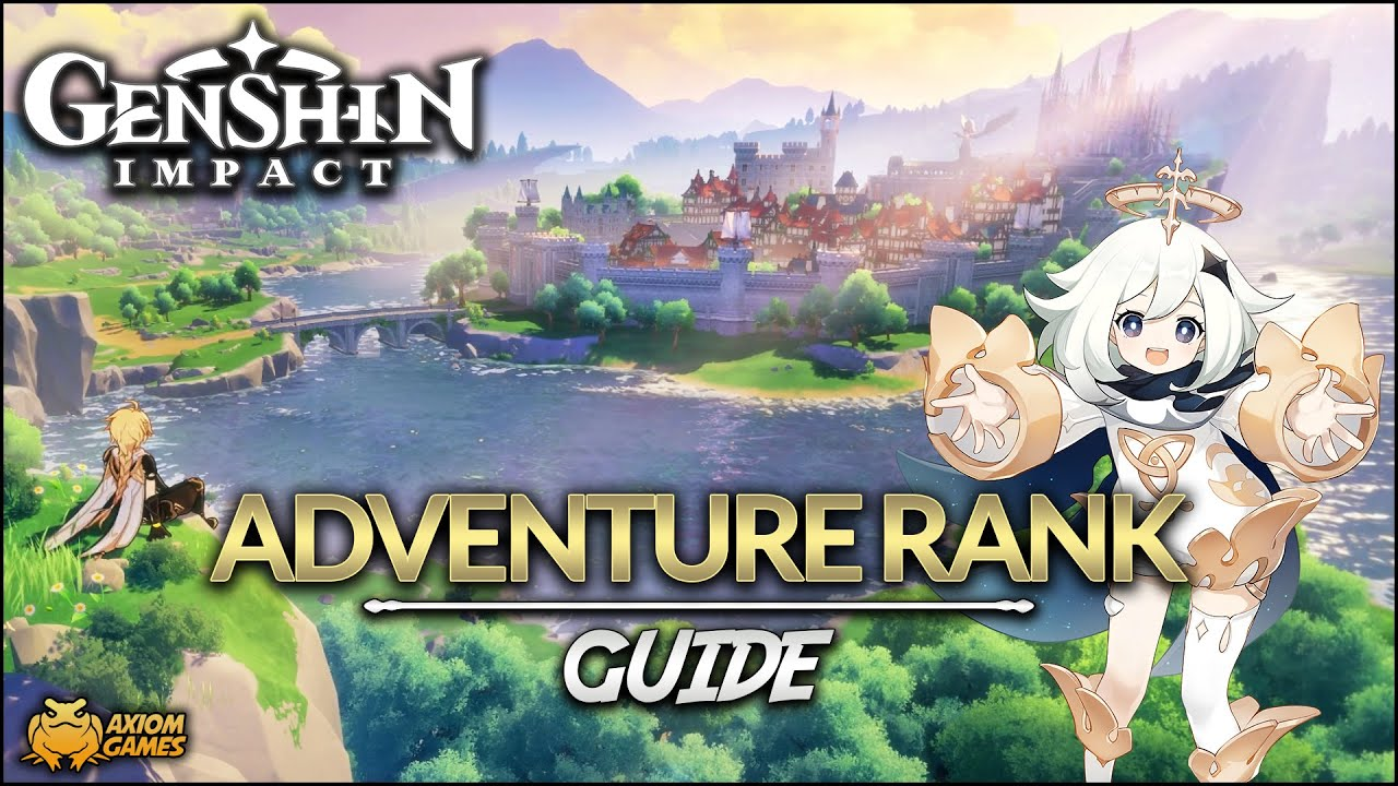 Genshin Impact - Adventure Rank Guide - YouTube