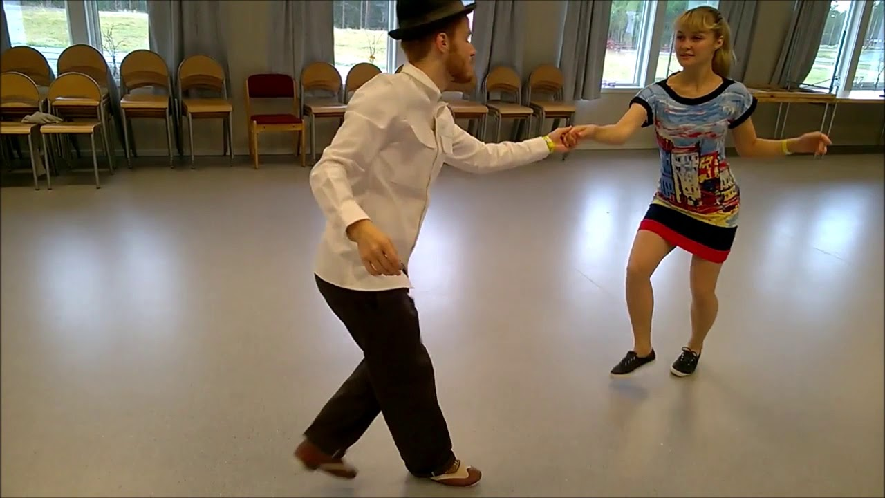 Swing Dance Class Recap with Sondre & Tanya