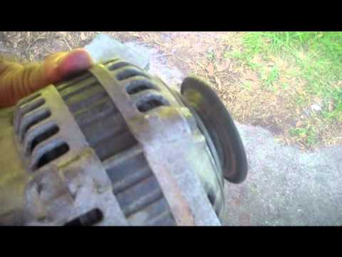 how to tell if car alternator is bad