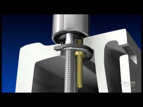 Grohe Grifería - Sistema Grohe QuickFix (Guía de Instalación) - YouTube