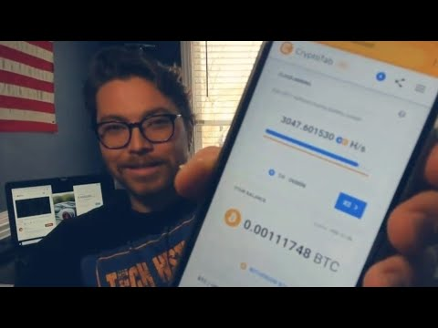 How Much Can You Make Mining Bitcoin On 1 Phone   Cryptotab App Update