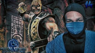 Mortal Kombat Shaolin Monks Story Mode Part 14 - SCORPION BOSS FIGHT