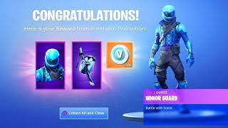 FREE SKIN AT FORTNITE? (HONOR GUARD)-FORTNITE BATTLE ROYALE