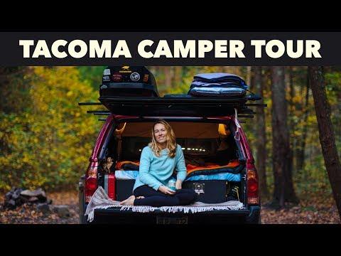 Toyota Tacoma Camper Tour