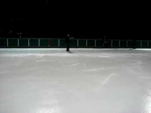 Ice skatting in Pittsburgh at the Schenley Park
