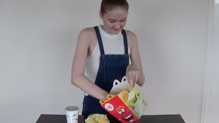 mukbang mac donalds
