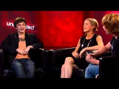 'Harry Potter and the Order of the Phoenix' Unscripted  Daniel Radcliffe, Emma Watson, Rupert Grint
