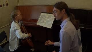 С.А. Козманов. Фрагмент урока по специальности в классе гитары