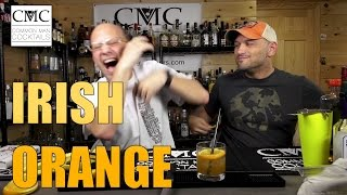 The Irish Orange, with Jameson Irish Whiskey