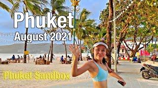 PATONG BEACH Phuket August 2021 - Beach Road - Phuket Sandbox