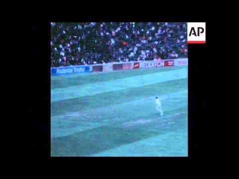 Download SYND 9-8-73 SECOND TEST CRICKET MATCH BETWEEN WEST INDIES AND ENGLAND IN EDGBASTON