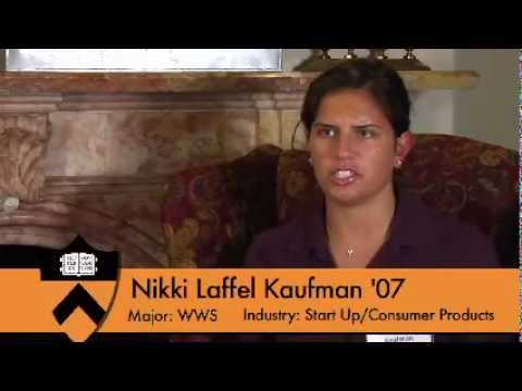 """How Did Your Time at Princeton Influence Your Career?"" Alumna Nikki Laffel Kaufman '07 Answers"