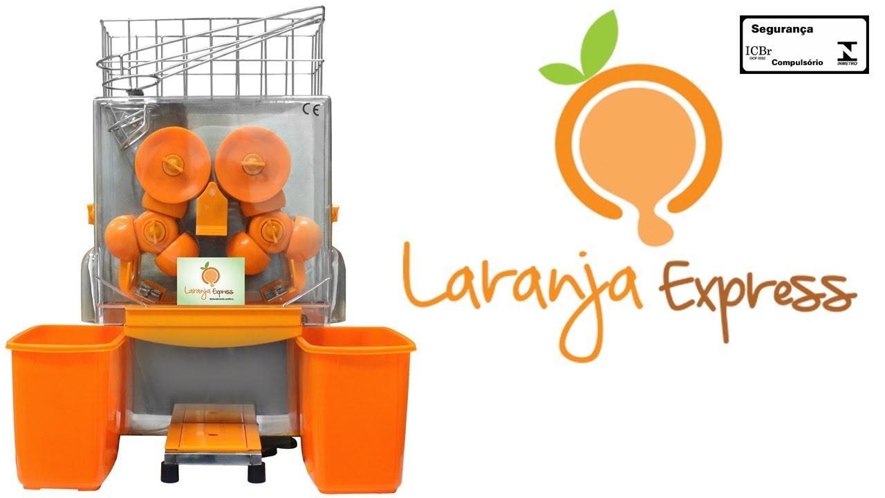 b3e81e04b9a Máquina de espremer laranja e tangerina automática - Laranja Express -  Comercial