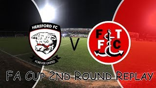 Video Hereford vs Fleetwood | FA Cup Second Round Replay | Vlog | Great Result download MP3, 3GP, MP4, WEBM, AVI, FLV Oktober 2018