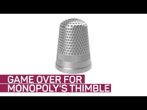 Monopoly Says 'sew Long' To The Thimble Token