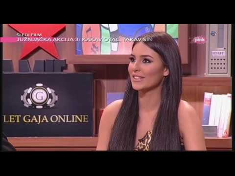 Cerka koje poznate licnosti bi volela da bude Anastasija Raznatovic? - Ami G Show S09