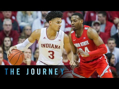 Cinematic Highlights: Ohio State at Indiana | B1G Basketball | The Journey