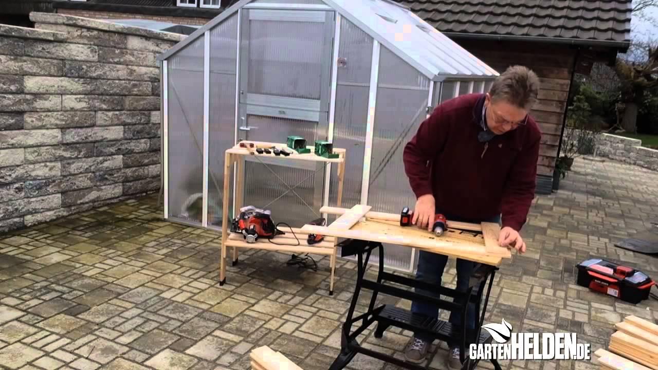 Gewachshaus Regal Gartenhelden De Bau Und Reparatur Anleitungen