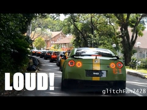40+ Nissan GTRs Hit The Streets Of Singapore (PART 2)
