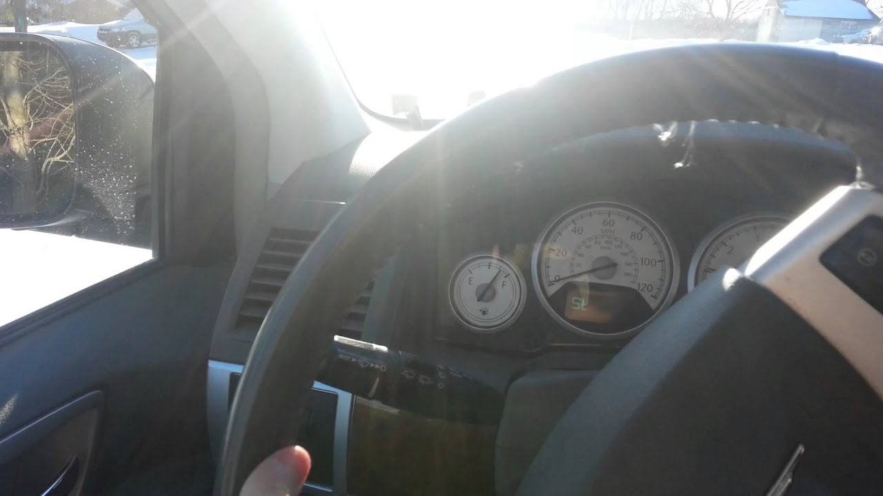 Chrysler Town and Country Stalling Issue