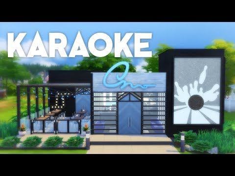 SONGS AND STRIKES // Karaoke Bar + Bowling Alley // The Sims 4 Speed Build