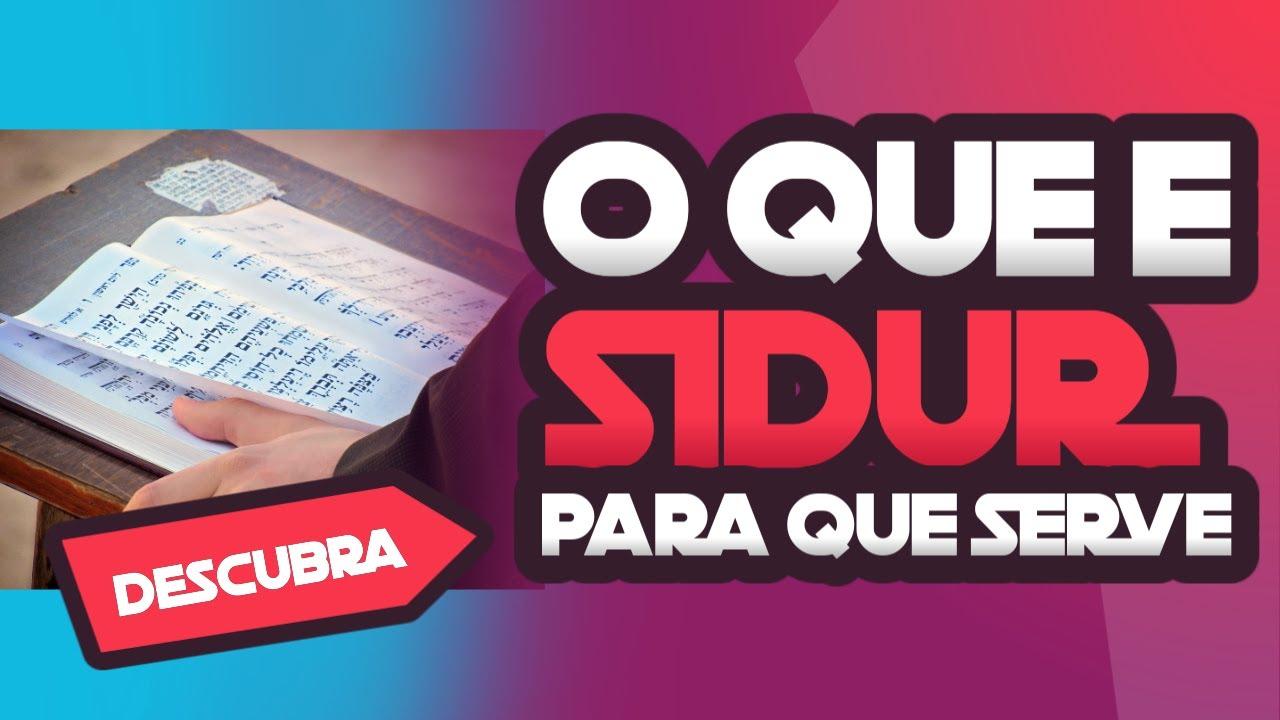 O que é o Sidur? para que ele serve? - Canal Alef
