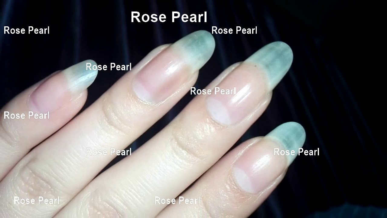 My Natural Nails in Round Shape with & without Nail Polish- Nail ...