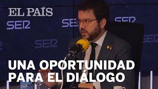 Pere ARAGONÈS habla sobre la OPORTUNIDAD que supone la MESA DE DIÁLOGO