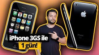 iPhone 3GS ile bir gün! 😍📱 (ilk iPhone'umu 11 yıl sonra buldum!)
