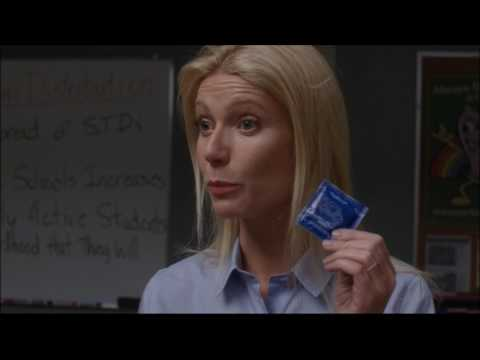 Glee - Holly returns as a Substitute and...