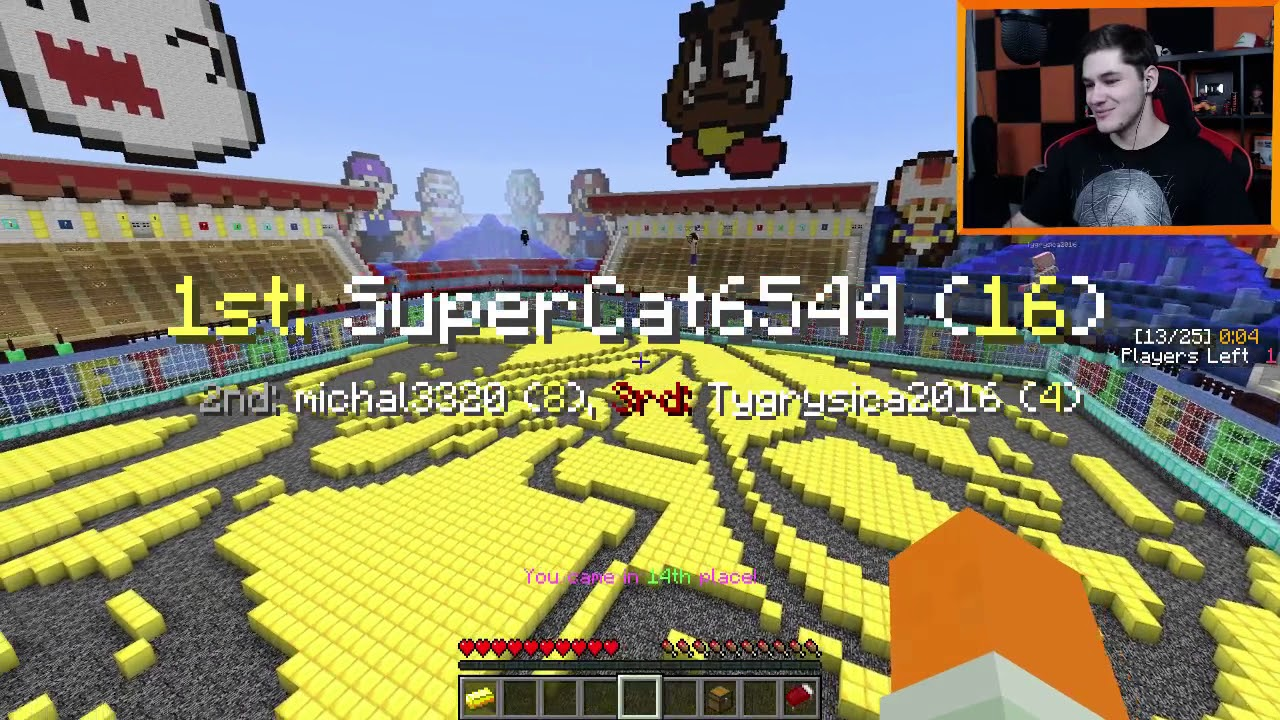 "Minecraft Party #62 – ""Uwaga! Focusy! Akiri znowu haxuje?!"""