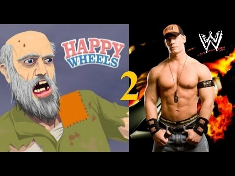 Wwe Happy Wheels 2 Youtube