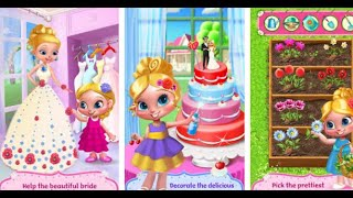 Flower Girl Crazy Wedding Day Android İos Tabtale Free Game GAMEPLAY VİDEO
