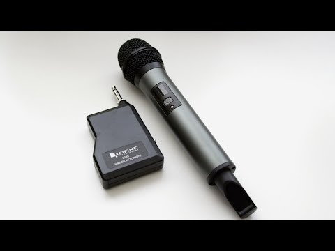 fifine wireless microphone review youtube. Black Bedroom Furniture Sets. Home Design Ideas