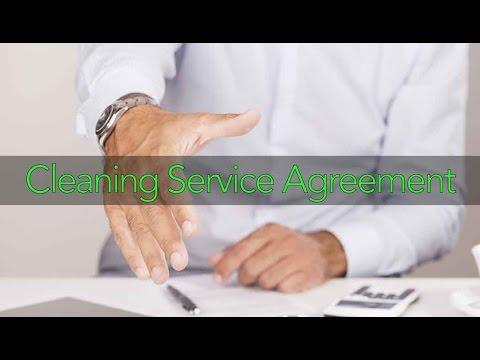 Cleaning Service Agreements featuring Cintia Leone