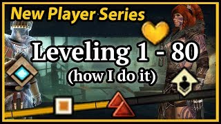 Guild Wars 2  - 1-80 Leveling Guide! (how I do it)